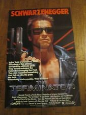 Terminator Movie Poster In Movie Memorabilia Original Us