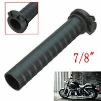 7/8'' Handle Bar Hand Grip Dual Cable Throttle Sleeve Tube Sportbike Scoote !