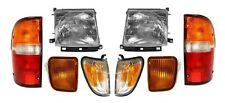 1998-2000 TOYOTA TACOMA 4WD W/PRE HEADLIGHTS, CORNER, SIGNAL & TAIL LAMPS LIGHTS