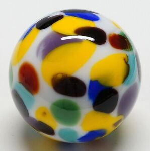 "Winlock Marbles ~ Handmade Glass Marbles ~ Lampwork Art Marble ~ 63/64"""