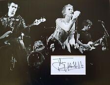 DERBY 1976 SEX PISTOLS G MATLOCK  UACC PUNK TOUR SIGNED REPRO POSTER