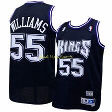 Sacramento Kings Jason Williams Soul adidas Swingman Jersey XL
