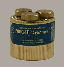 Fogg-It Nozzle - Heavy Volume - 4 GPM - Spraying Device - Free Shipping $12.95
