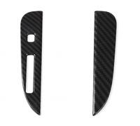 Gear Shift Panel Dash Frame Cover Trim ABS für Ford Mustang carbon fiber 5002