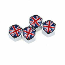 Universal 8mm Car Wheel Tyre Tire Air Valve Caps UK United Kingdom Flag for Ford