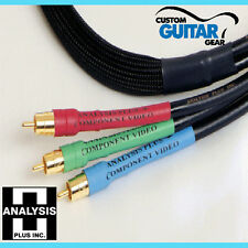 Analysis Plus Component Oval One Cable, 3-Wire, Length 2.0 meter