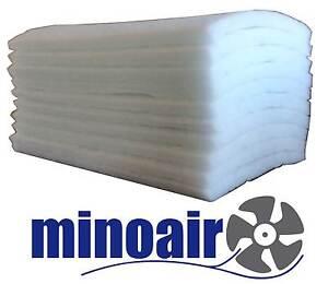 Taschenfilter G4  287x592 x360 mm 3 ET  Polyester Grobstaub Coarse ISO 60/%