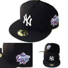 New Era MLB New York Yankees 5950 Fitted Hat 1998 World series Side Patch Cap
