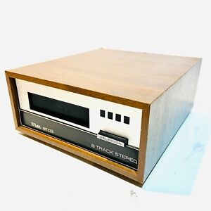 Wien 8TD3 Stereo 8 Track Cassette Player By BSR, 1965. Clean, Complete, Untested