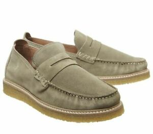 Mens Poste Poste For Offspring Loafers Port Leather Casual Shoes
