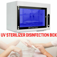 Ultraviolet Ozone Nail Tools Sterilizer Disinfection Cabinet Sanitizing Machine