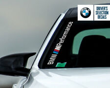 BMW M Performance Side Windshield Decal windows sticker graphic