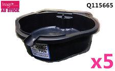 5pcs Quadrant 8L Oil Filter Change Pan Car Service Repair Multipourpose Q115665