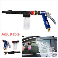2in1 Adjustable Foamaster Snow Foam Water Car Clean Wash Spray Gun Lance Sprayer