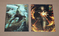 Gwent The Witcher 3 Deck Cards Game Collectible Postcard Set from Gamescom 2016