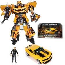 Hasbro Transformers ROTF Human Alliance Bumblebee Figure and Sam with Box