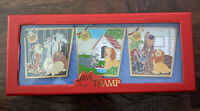 Lady and the Tramp Disney 65th Anniversary Pin Set LE 1000 IN HAND