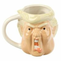 DONALD TRUMP PRESIDENTS NOVELTY MUG 3D SHAPED STYLE COFFEE CUP NEW IN GIFT BOX