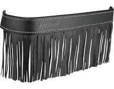 INDIAN MOTORCYCLE BLACK FRINGED LEATHER FLOORBOARD TRIM 2014-2018 CHIEF MODELS