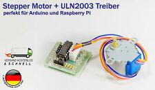 Schrittmotor Stepper 5V DC inkl. ULN2003 Treiber Board für Arduino Raspberry Pi