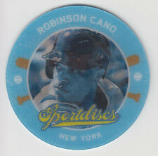 ROBINSON CANO 2013 Panini Hometown Heroes Baseball Sportdiscs Card #SD8 Yankees