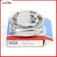 1 PCS SKF 6207-2RS Rubber Seals Ball Bearing Made in Italy NTN, NSK FAG, KOYO