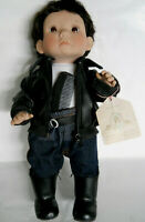 Lee Middleton Baby Doll Boy Biker Doll W/Orig Tag, Comb, Coat+Boots Numbered Ed.