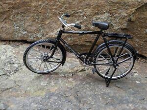 Miniature Mens Black Bicycle 1/10 Scale NIB