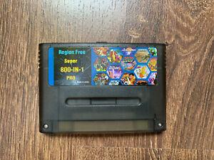 SNES Super Nintendo Modul m. SD Karte u. Slot Ähnlich w EverDrive SD 2Snes Spiel