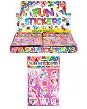 Bulk Wholesale Job Lot 360 Sheets Unicorn Stickers Toys