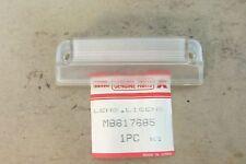 NOS OEM MITSUBISHI LANCER 1988-1990 GTI REAR LICENCE PLATE LAMP LENS # MB617685