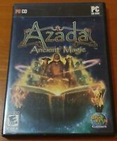 Azada: Ancient Magic (PC, 2008) Hidden Object Puzzle PC Video Game
