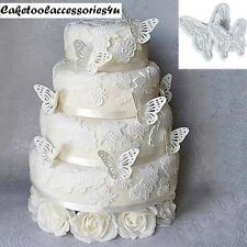 2 Nuevo Mariposa Decoración Pastel Fondant Sugarcraft Moldes Cortadores De Galletas Molde