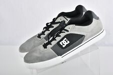 NICE DC Mens Chris Cole Pro Edition Grey Leather Skate Shoes Style 30337 Size 11