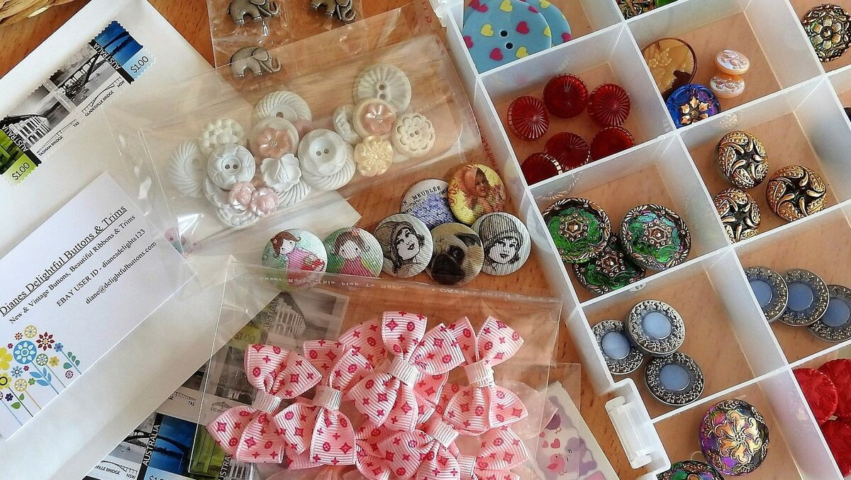 DIANES DELIGHTFUL BUTTONS and TRIMS
