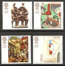 GB MNH STAMP SET 1993 Europa Contemporary Art SG 1767-1770 UMM
