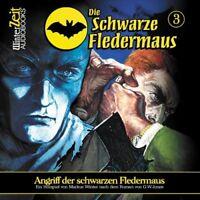 DIE SCHWARZE FLEDERMAUS 03-ANGRIFF DER SCHWARZEN F  CD NEU