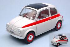 Fiat 500 L Sport 1960 White / Red 1:18 Model 1801401 SOLIDO