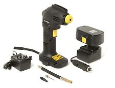 Rechargeable Cordless Air Compressor Tyre Inflator Pump 12V Portable Refurbish