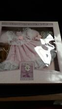 Collectible Memories 16� Doll Accessories White Satin & Lace Dress Shoes W/pearl