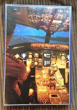 Cockpit Boeing 767 Simulator 1500 pc Jigsaw Puzzle NEW SEALED Aeroplane/Pilot