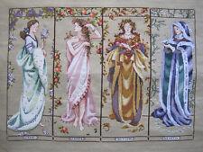 Maidens Of The Season - Cross Stitch Chart - Free Postage