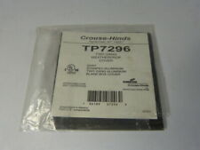 Crouse Hinds TP7296 Weatherproof Grey Two Gang Cover ! NWB !