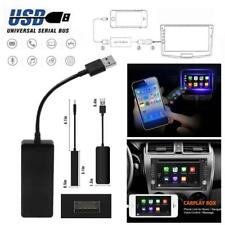 12V USB Dongle for Apple iOS CarPlay Android car radio Navigation Player Black