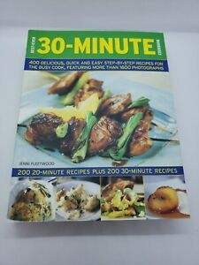 Best Ever 30 Minute CookBook 400 Recipes 1600 Photograghs Book 2008