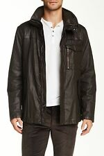 NEW John Varvatos Jacket in Chocolate Size 40 100% Linen was $1,098.00
