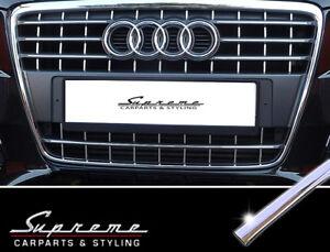 AUDI A4 B8 Typ 8K 2007-2011 Chrom Zierleisten für Kühlergrill RS Look 3M