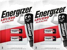 4 x Energizer® E90 N M9100 LR1 1.5V Alkaline Batteries Expiry 2023
