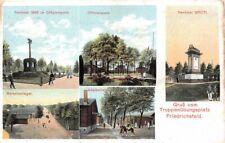 671983) AK Truppenübungsplatz Friedrichsfeld bei Wesel gelaufen 1910