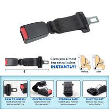 "1PC 9'' Car Seat Seatbelt Adjustable Safety Belt Extender Extension 7/8"" Buckle"